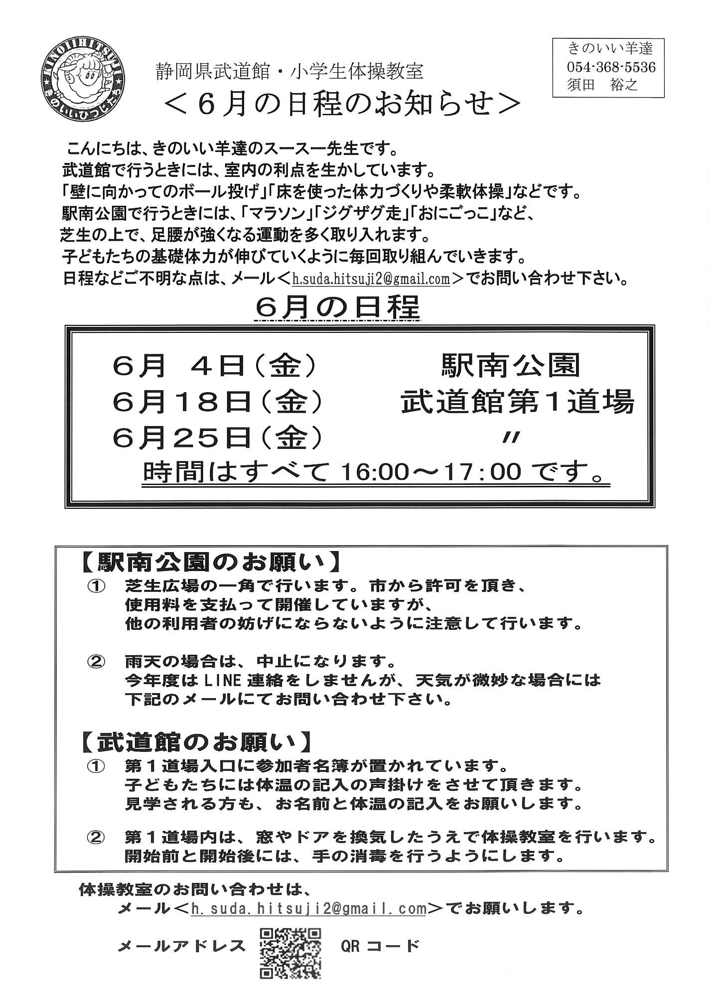 藤枝 武道館教室